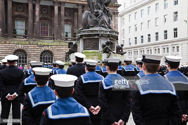 royal navy sailors - royal navy stock pictures, royalty-free photos & images