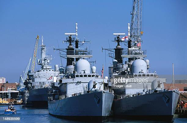 royal navy warships. - royal navy stock pictures, royalty-free photos & images