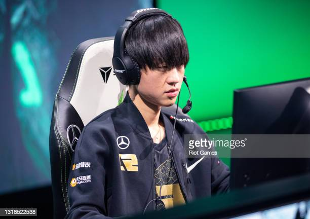 """Royal Never Give Up's Shi """"Ming"""" Sen-Ming at the 2021 MSI annual League of Legends Rumble Stage: Day 4 on May 17, 2021 in Reykjavik, Iceland."""