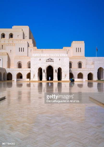 Royal opera house Governorate of Muscat Muscat Oman on May 11 2018 in Muscat Oman