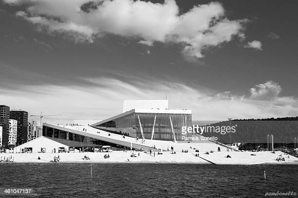 Royal Opera House in Oslo, Norway.
