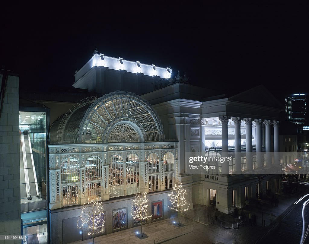 Royal Opera House, London, United Kingdom, Architect Bdp + Dixon Jones Ltd, 1999 : Fotografia de notícias
