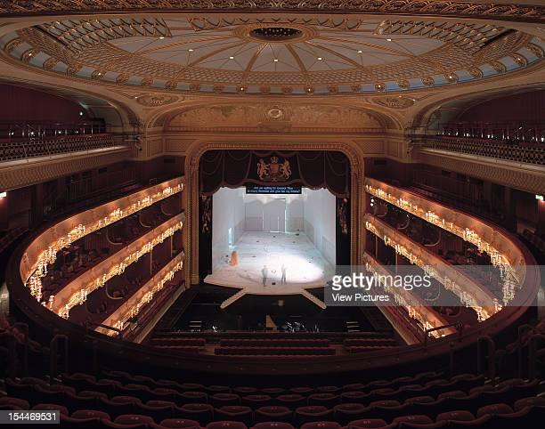Royal Opera House, London, United Kingdom, Architect Bdp + Dixon Jones Ltd Royal Opera House Bdp Dixon Jones. January 2000. Auditorium.