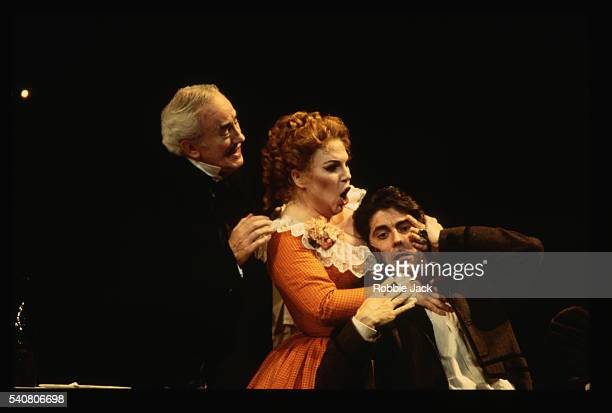 royal opera production of la boheme - royal opera house london stock pictures, royalty-free photos & images