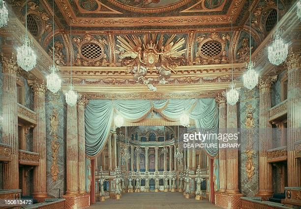 Royal Opera Theatre, Palace of Versailles . France, 18th century.