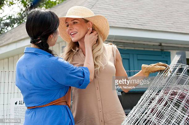 Royal Pains An Apple A Day Episode 6 Pictured Camille Chen as Anna Julie Benz as Elyse