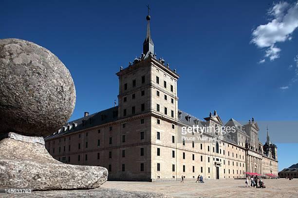 Royal palace and monastery of El Escorial.