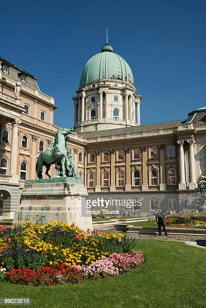 royal palace budapest - royal palace budapest stock pictures, royalty-free photos & images