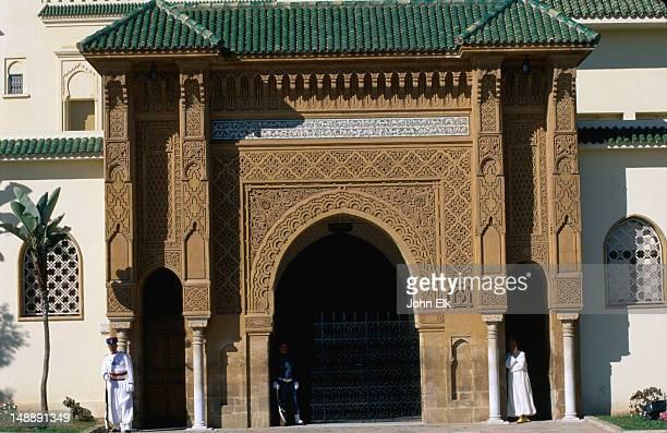 Royal Palace entrance arch.