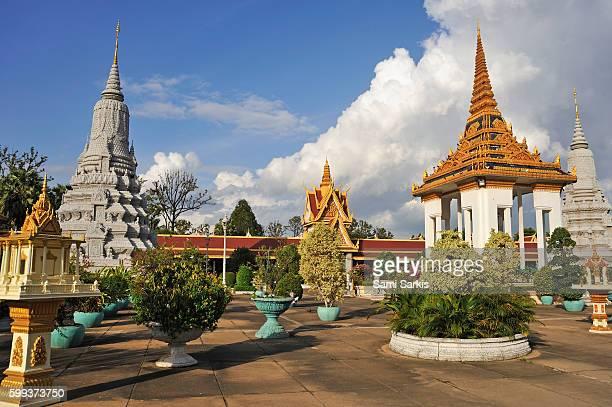 Royal Palace grounds, Phnom Penh, Cambodia, Southeast Asia