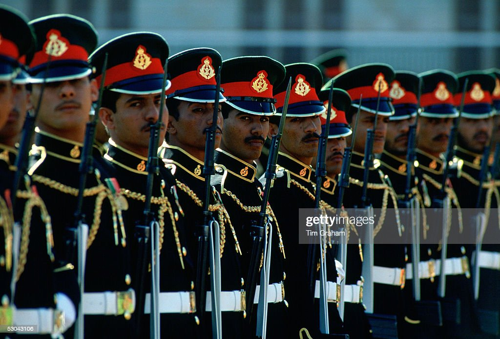 Palace Guard, Muscat, Oman : News Photo