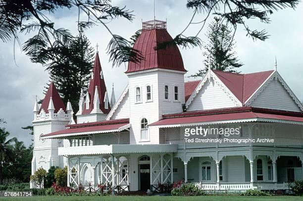 Royal Palace in Nukualofa Tonga