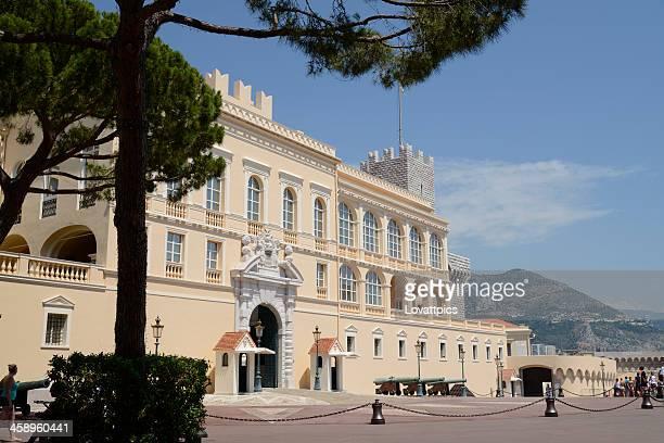 palácio real de mônaco - mônaco - fotografias e filmes do acervo