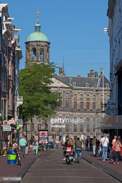 royal palace of amsterdam - gwengoat stock pictures, royalty-free photos & images