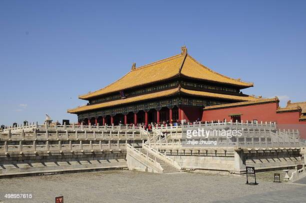 Royal palace of forbidden city