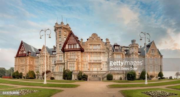 royal palace of la magdalena - realeza bildbanksfoton och bilder