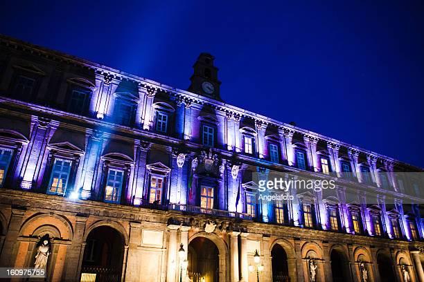 palazzo reale di napoli, italia. - palazzo reale foto e immagini stock