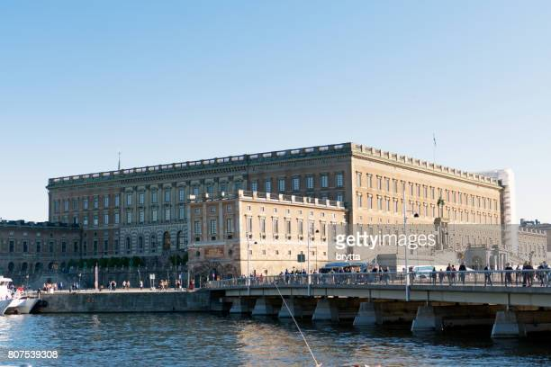 Royal Palace of the Swedish Royal Family in Stockholm
