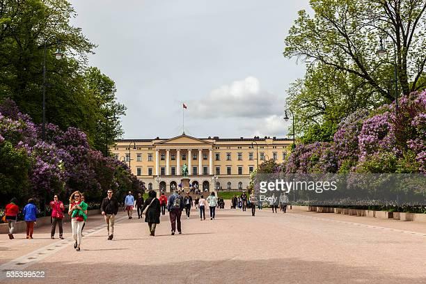 Royal Palace in Norwegen Tag der Verfassung.