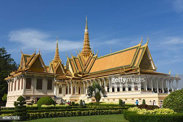 Royal Palace Phnom Penh, Throne Hall, Cambodia