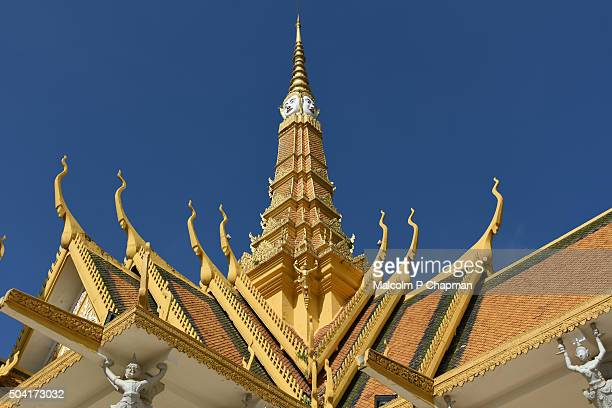 Royal Palace Phnom Penh, Throne Hall spire, Cambodia