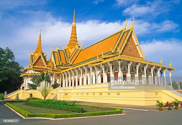 Royal Palace – The Throne Hall, Phnom Penh, Kambodscha