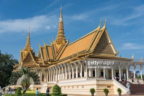 Royal Palace, Throne Hall,  Phnom Penh, Cambodia