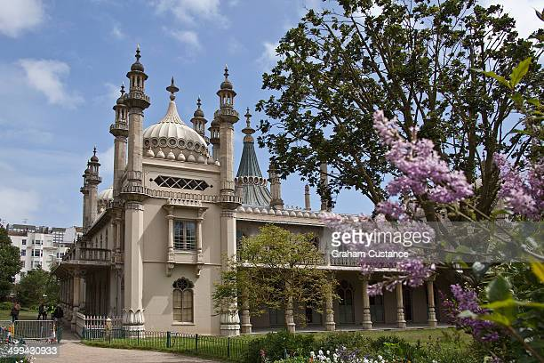 Royal pavilion at Brighton in Sussex, England.