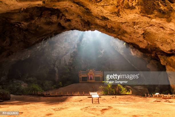 royal pavilion in the phraya nakhon cave, prachuap khiri khan province, thailand - paranormal stock pictures, royalty-free photos & images