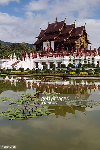 Royal Pavilion Ratchapruek, or Ho Kham Luang in Thai, is the most impressive display of architecture at Royal Flora Ratchaphruek. Built in the style...