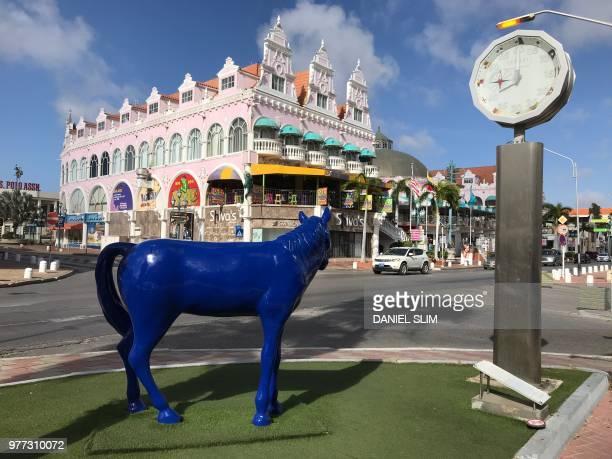 Royal Plaza Mall, Oranjestad, Aruba on June 17, 2018.