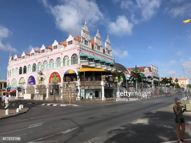 Royal Plaza Mall, Oranjestad, Aruba on June 17, 2018.