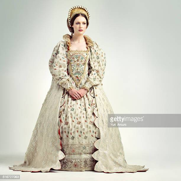 royal poise - elizabethan style stock photos and pictures