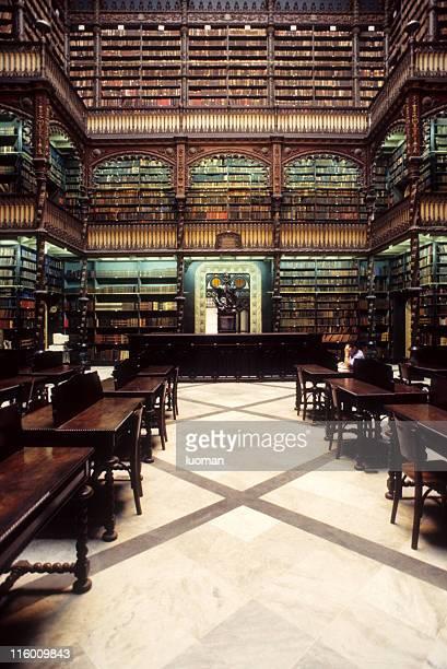real gabinete português de leitura - cultura portuguesa - fotografias e filmes do acervo