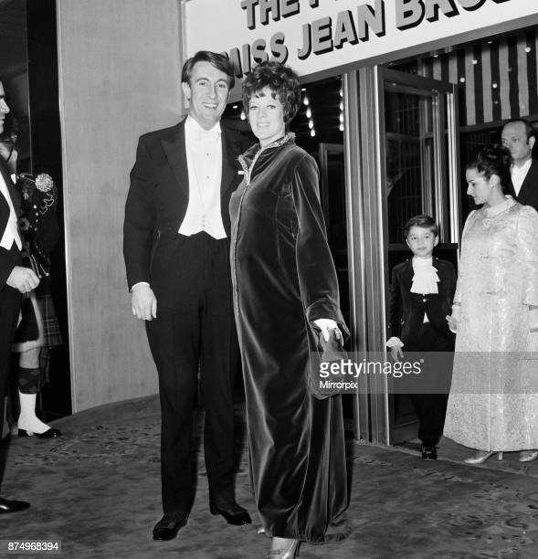 Royal Premier of the British film The Prime of Miss Jean Brodie held at the Odeon in Leicester Square London Actress Maggie Smith who stars in the...