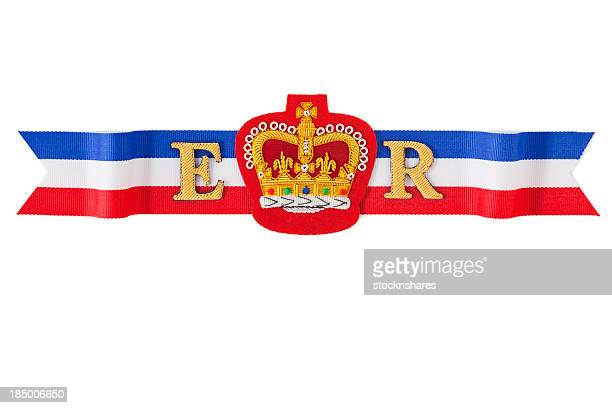 royal ribbon - british culture stock pictures, royalty-free photos & images