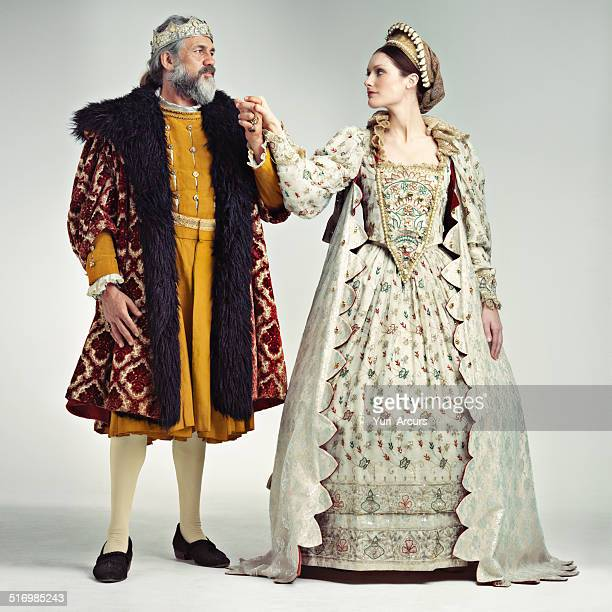 royal romance - elizabethan style stock photos and pictures