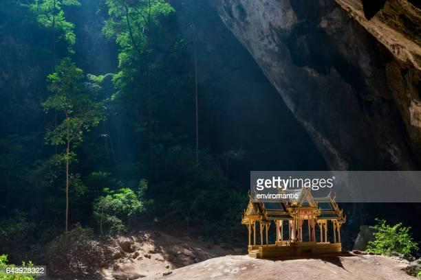 Royal Sala in Phra Nakorn Cave in Khao Sam Roi Yot, Prachuab Khiri Khan, Thailand.
