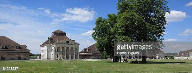 royal saltworks of arc-et-senans - アルクエセナン ストックフォトと画像