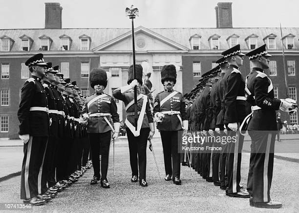 Royal Scots Greys Ceremony And Parade At London Chelsea In United Kingdom On June 18Th 1956