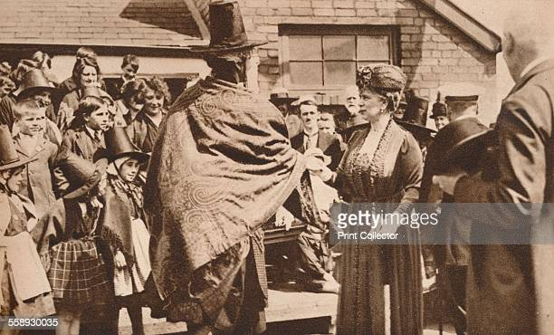 Royal tour of Wales c1920s Queen Mary was particularly delighted with the singing and congratulated Mrs Ben Thomas on the fine recital of the choir...
