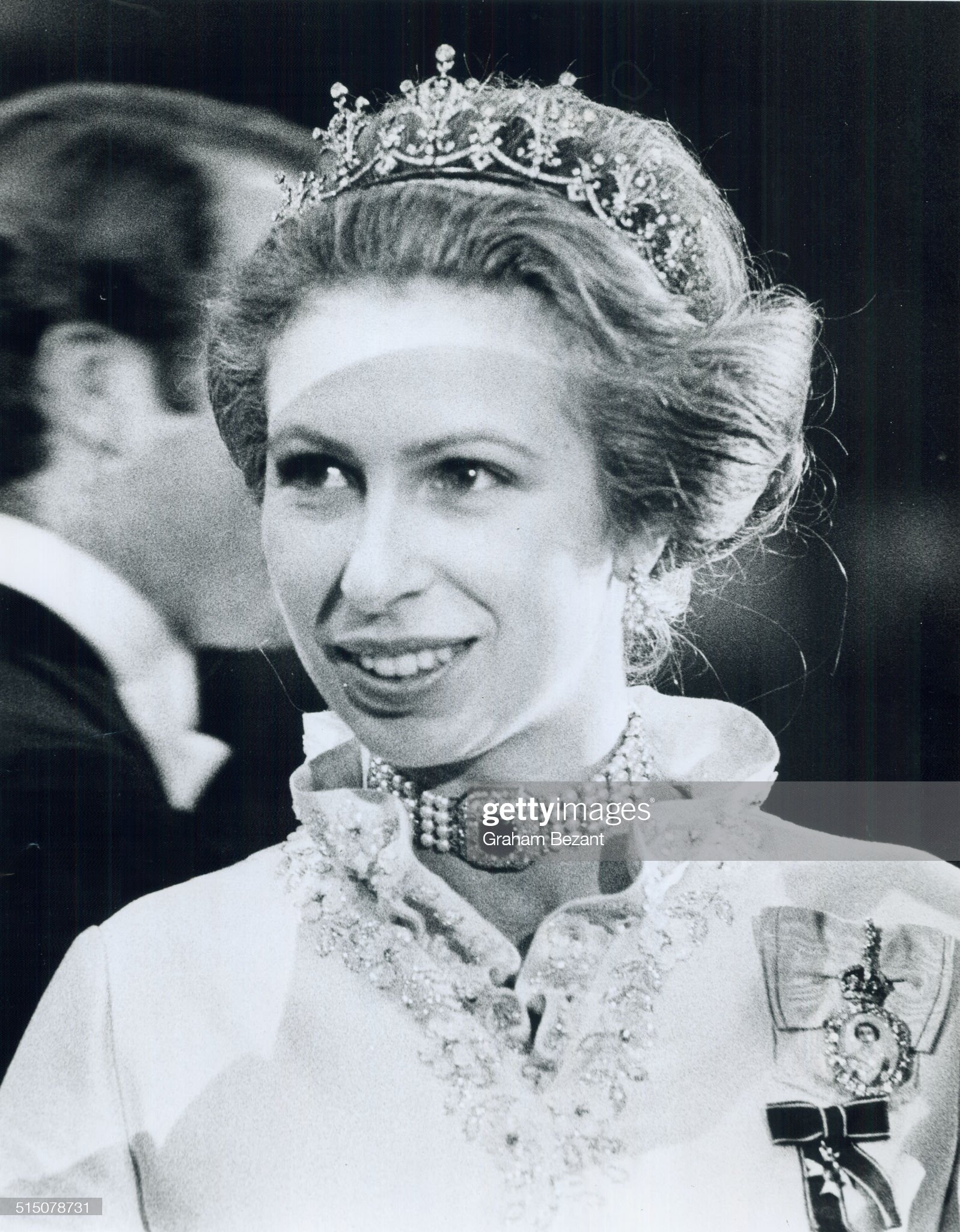 Royal Tours - Princess Anne and Mark Philips (1974)... : News Photo