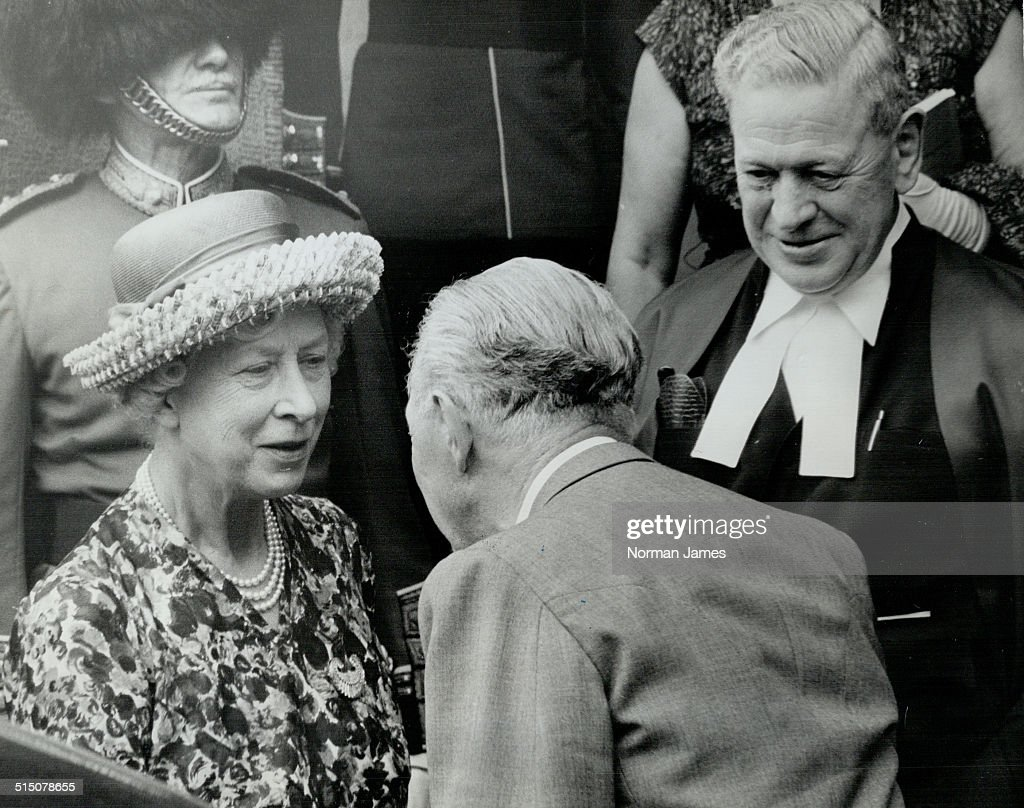 Royal Tours - Princess Royal (Canada 1962) (Princess Mary)... : News Photo