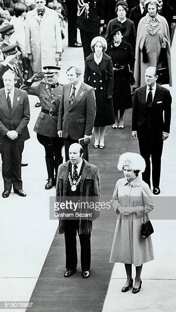 Royal Tours Queen Elizabeth and Prince Philip Ottawa