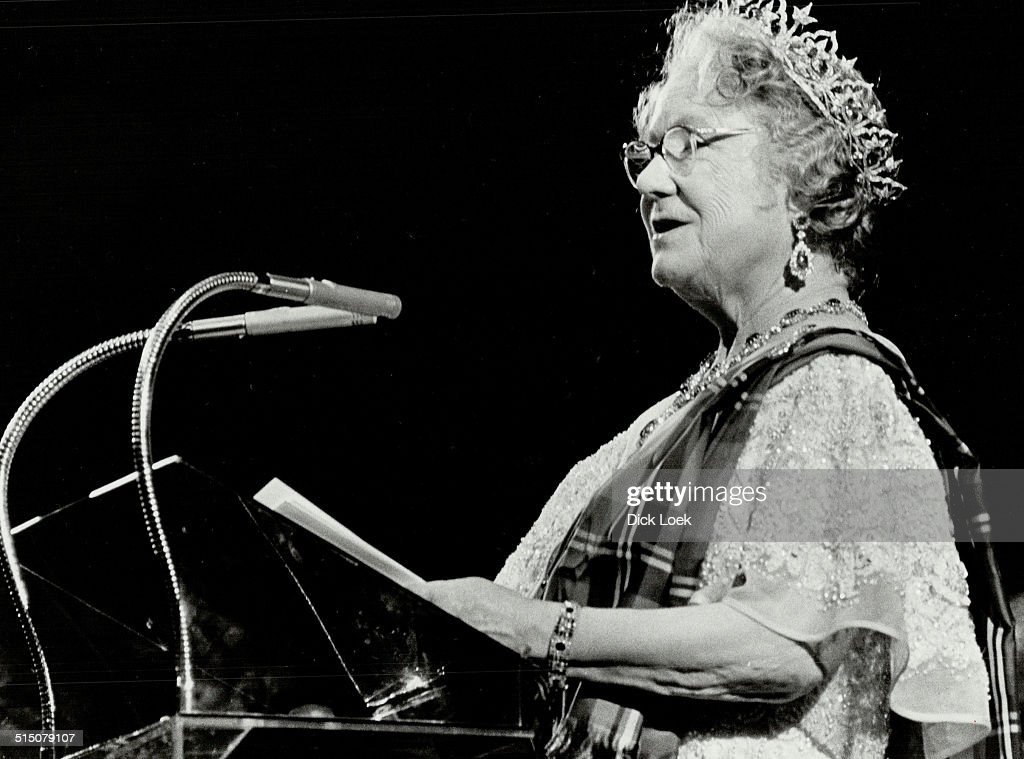 Royal Tours - Queen Mother; Elizabeth (Canada 1979)... : News Photo