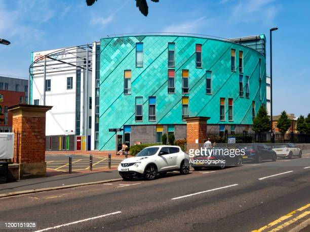 royal victoria infirmary hospital. - outpatient care stock pictures, royalty-free photos & images