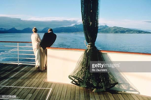 Royal Viking Sun of the Cunard Cruise Line - Norway