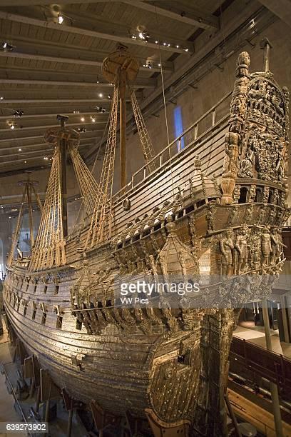 Royal Warship, Vasa, Vasamuseet , Djurgarden, Stockholm, Sweden.