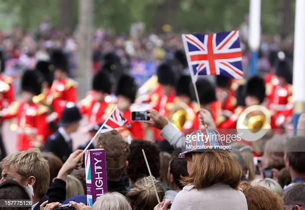Königliche Hochzeit in London, England
