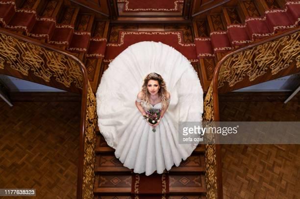 koninklijk huwelijk in het paleis - prinses stockfoto's en -beelden